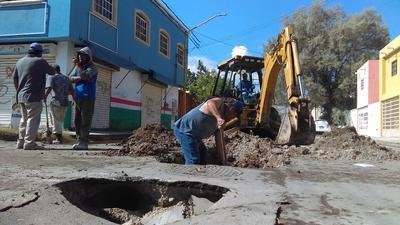 La obra no es municipal sino del Estado, quien licitó en su momento la obra y la adjudicó a un contratista, quien ya realiza trabajos en la zona, según confirmaron autoridades de Sapal.