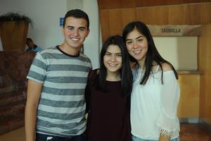 20072017 Flavio, Ale y Lizbeth.