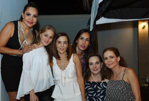 20072017 Mayte, Flor, Adriana, Angelina, Ana y Caty.