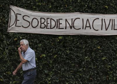 La demostración fue convocada por 24 horas para reiterar el rechazo a la Constituyente de Maduro.