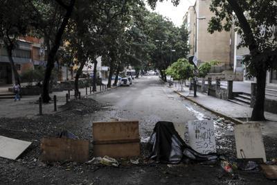 Varias calles y avenidas estuvieron vacías.