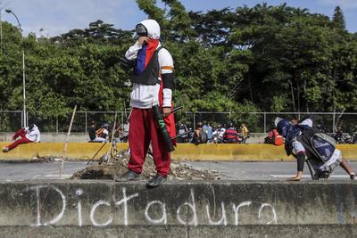 Es en repudio a la Asamblea Constituyente propuesta por el presidente Nicolás Maduro para elaborar una nueva Carta Magna.