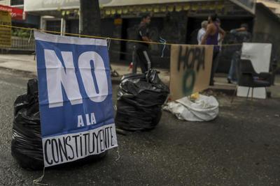 Las protestas en Venezuela adquirieron otro nivel.