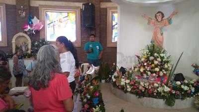 Las fiestas patronales del Niño Jesús, comienzan desde que inicia el mes de julio.