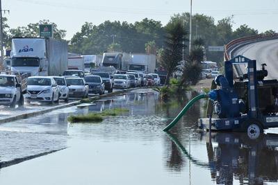Nuevamente, las lluvias generaron caos en Torreón.