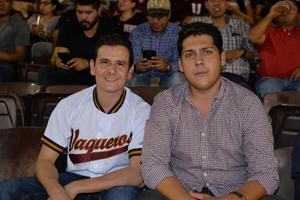 21072017 EN EL BéISBOL.  Pepe y Alejandro.