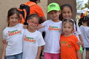 22072017 Aranza, Nuri, Mary, Valeria y Ana Victoria.