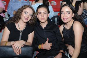 Aracely, Harold y Giselle