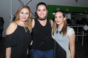 Martha, Dyana y Miriam