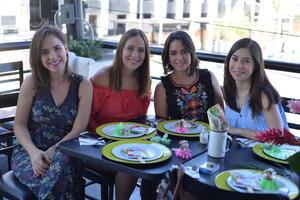 Lorena, Estefanía, Marigaby y Lety
