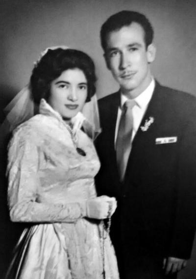 23072017 El pasado 17 de julio, el Profesor Arturo Garza Ayala y la Profesora Dora Estela Moya de Garza, celebraron sus 56 años de casados.