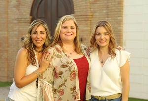 24072017 María Elena Enríquez, Cristy Gilio y Ale Silveyra.