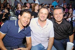 23072017 AMIGOS.  Óscar, Ricardo y Miguel.