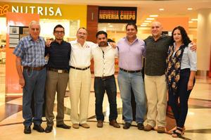 23072017 Ale Jaime, Juan Antonio, Jorge, Ricardo, Armando, José Manuel y Horendida.