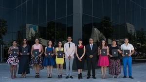 24072017 CEREMONIA DE GRADUACIóN.  Alumnos de la 13ª Generación de la Especialidad en Manufactura de Joyería de Plata Laguna del Tec de Monterrey Campus Laguna.