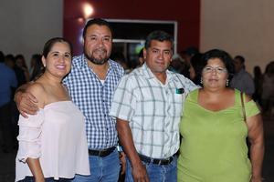 25072017 Claudia, Joel, Felipe y Lulú.