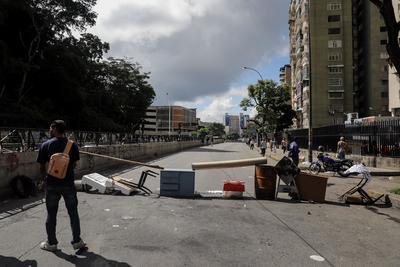 Venezuela volvió a paralizarse en una nueva huelga general.
