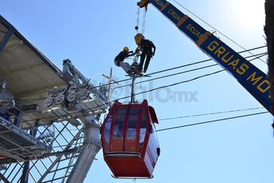 El Teleférico de Torreón operará a una altura de 0 a 150 metros pasando por 7 columnas de diferentes medidas de acuerdo con el trayecto.