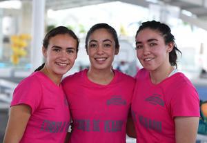 27072017 CURSO DE VERANO.  Ivanna, Fernanda y Paula.