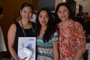 27072017 JORNADAS DE ENFERMERíA.  Cristina, Nancy y Magda.
