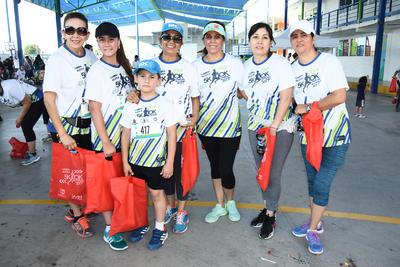 27072017 Rocío, Claudia, Nena, Uvier, Miguelito, Sandra y Sergio.