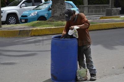 La condición de calle los obliga a autoemplearse, principalmente en actividades de reciclaje