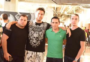 29072017 Ricardo, Ricardo, Pablo y Fernando.