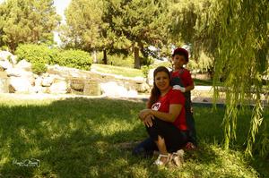 29072017 Jesús Mario Reyes y su mami, Gaby Reyes.