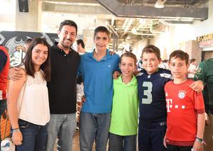 29072017 Ana Cris, Luis, Lalo, Rudy, Luis Fer y Andrés.