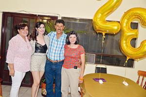 30072017 Verónica Montoya, Mónica Montoya, Jesús Montoya y Mariana.