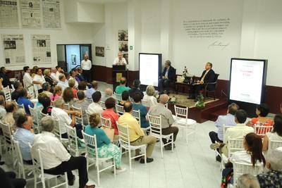 Gregorio Muñoz mencionó la importancia de recuperar el pensamiento de un personaje que contribuyó, mediante trabajo y convicción, a forjar la región.