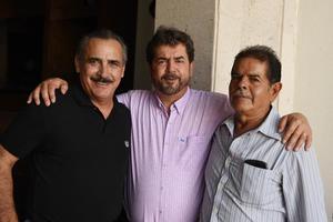 01082017 Gustavo, Miguel e Hilario.