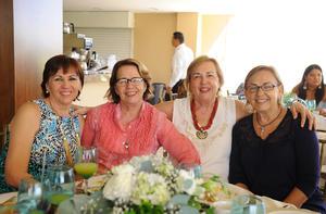02082017 Marcela, Susana, María Luisa y Tena.
