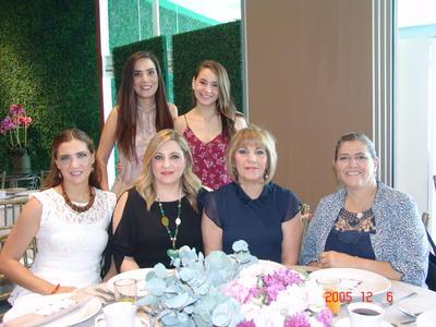 03082017 Sofía, Alicia, Alicia, Consue, Luisa y Fátima.