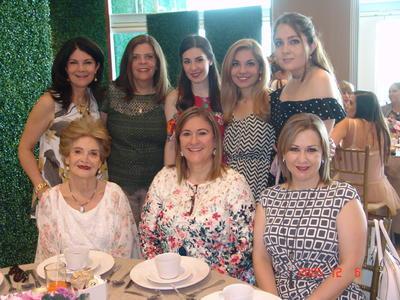03082017 Gaby, Magdalena, Ana Sofi, Paty, Gaby, Josefina, Sara y Magaly.