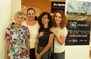 03082017 Rosy Gordillo, Laurita Estrello, Martha Herrera y Lina Canedo.