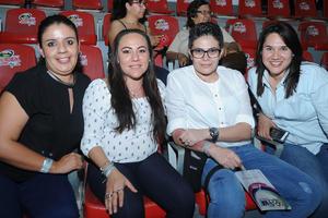 04082017 Flor, Karla, Chiqui y Pamela.