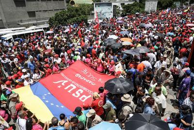 Todos los integrantes de la Asamblea son afines al Gobierno venezolano. EFE/Miguel Gutiérrez