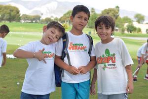 Luis, Fuhad y Marco