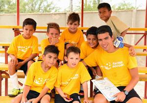 Salvador, Esteban, Sebastián, Marcelo, César, Javi, Santiago y Raúl