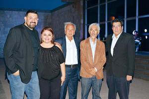 06082017 Absalom, Lucy, Juan de Dios, Carlos y Joaquín.