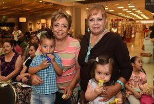 06082017 Lety, Diego, Amelia y Camila.