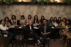 08082017 Diseñadoras industriales que participan en el proyecto de Jimulco junto a Ana Elena Mallet, Martha Turok, Ana Olga Rodríguez y Pineda Damián.