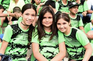 08082017 María de Jesús, María Fernanda y Génesis Itzel.