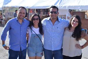 09082017 Eduardo, Daniela, Julio y Hada.