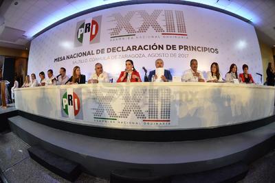El Partido Revolucionario Institucional (PRI) inició las mesas de diálogo de forma simultánea en cinco estados en el marco de la Asamblea Nacional XXII.