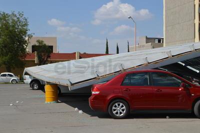 Aún no se han podido establecer estimaciones respecto a los daños materiales.