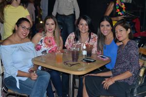 11082017 Sara, Karla, Perla, Mariana y Ámbar.