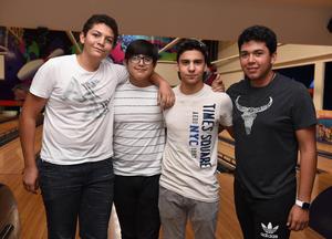 11082017 Zugby, Alejandro, Diego y Gonzalo.