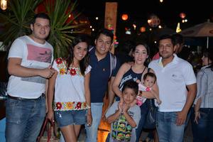 11082017 Ale, Nayely, Víctor, Paty y César.
